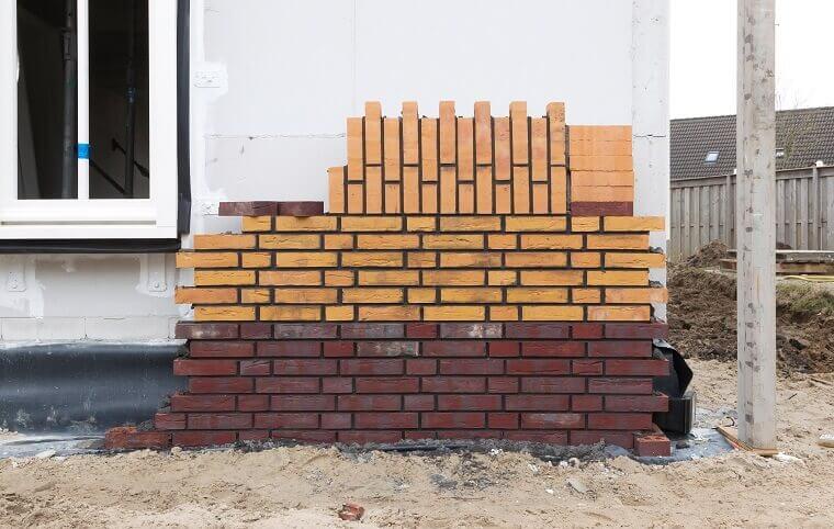 Stenen uitbouw